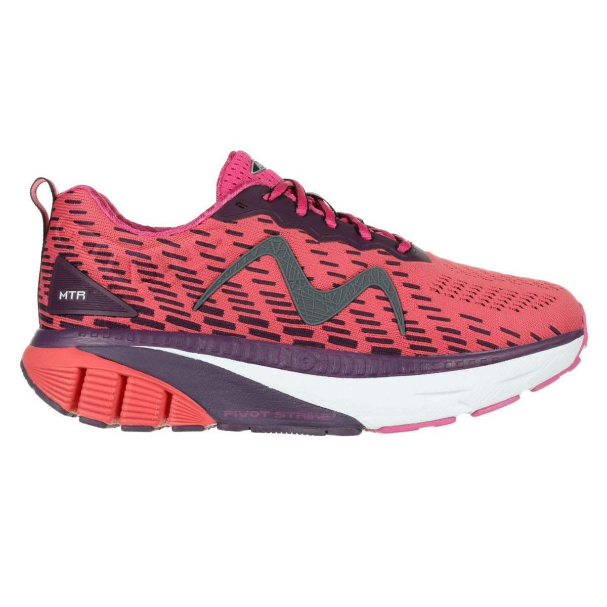 MTR-1500-Women's-Lace-Up-Running-Shoe-in-Red